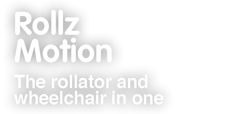 Rollz Motion. The rollator and wheelchair in one