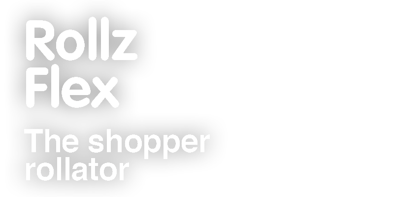 Rollz Flex. The shopper rollator