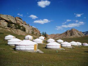 Hoogtepunt van de Trans Siberië Express: slapen in een Mongoolse Yurt