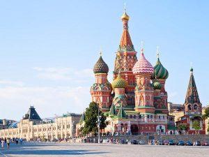 Op de Trans Siberië Express kom je langs het Rode Plein in Moskou