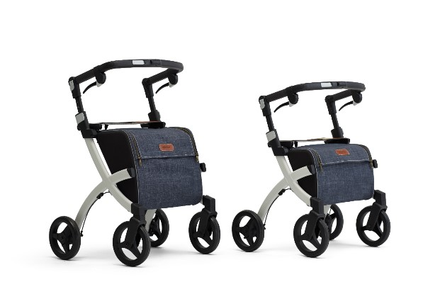 Rollz Flex rollator for people with small height