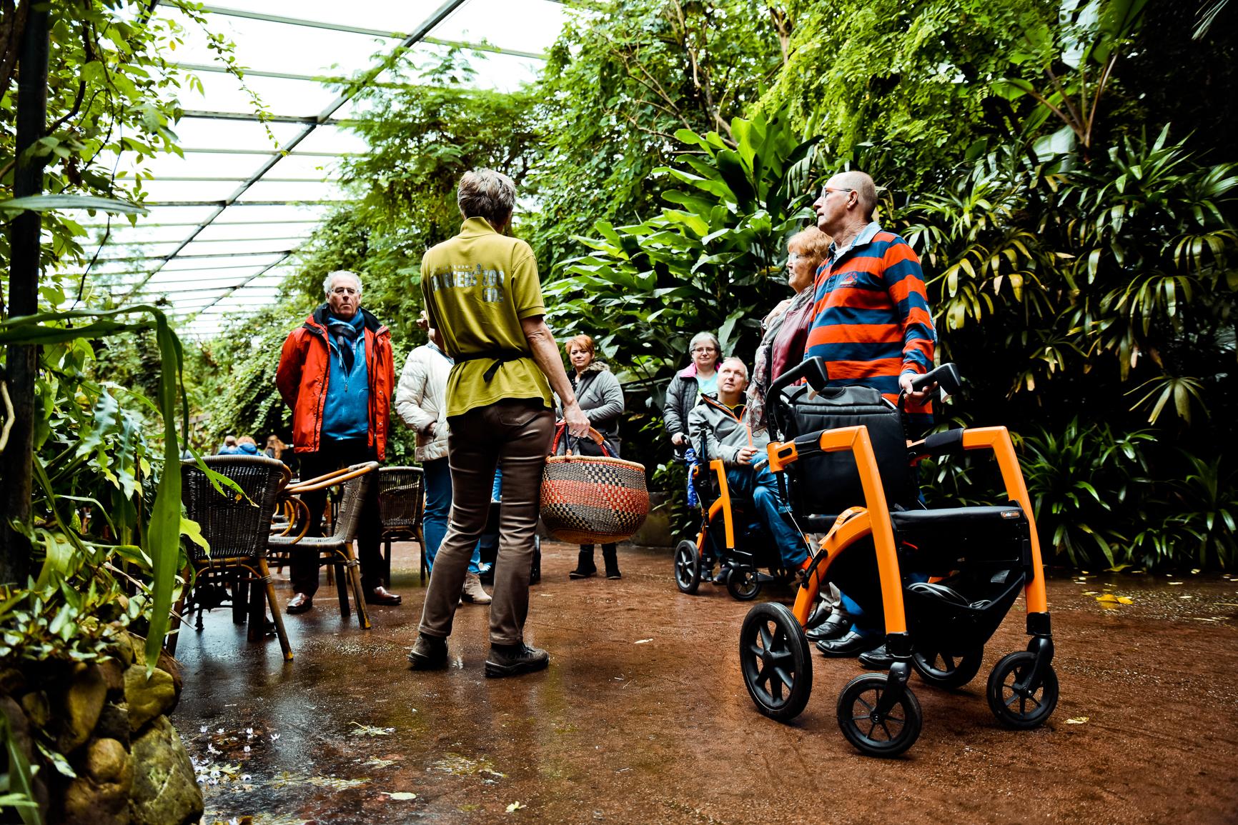 Uitje met rolstoel of rollator