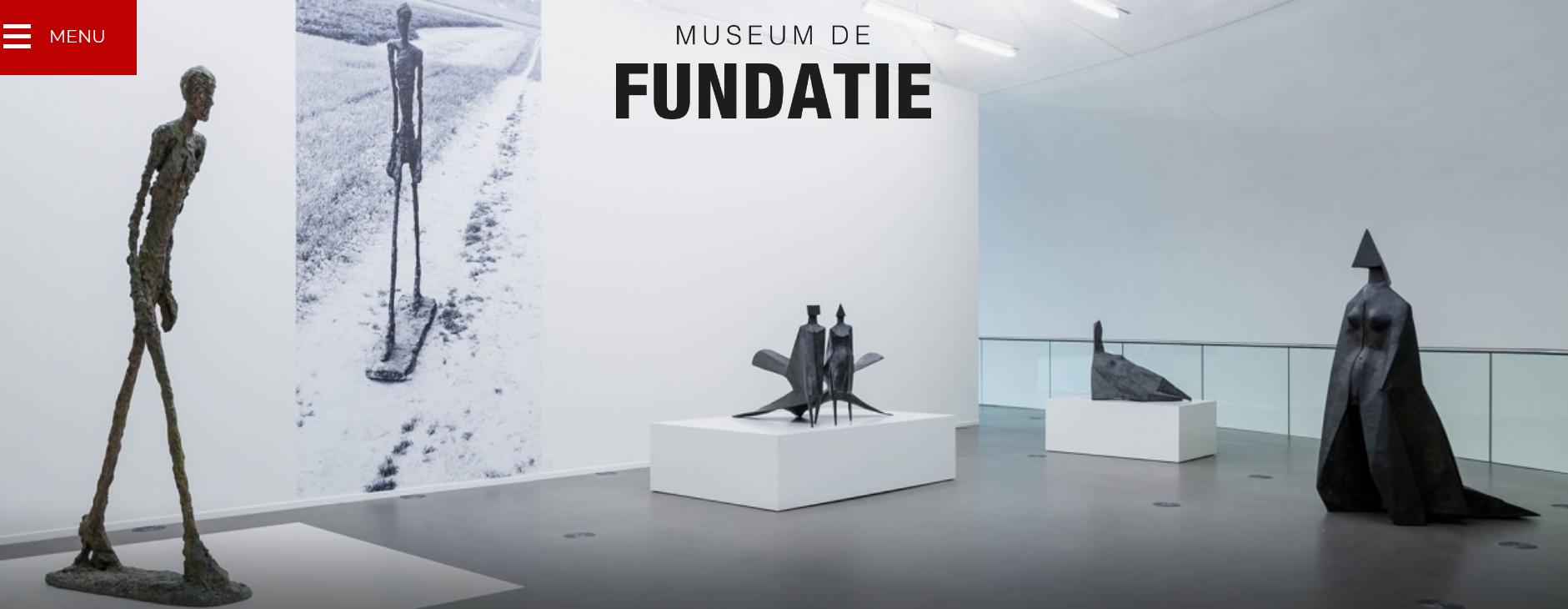 Museum De Fundatie met tentoonstelling Giacometti en Chadwick