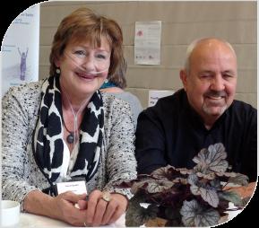 Gerdi und Norbert Späth van de zelfhulpgroep voor mensen met longziekten in het Duitse Hanau