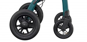 Outdoor rollator met luchtbanden, de Rollz Motion Performance