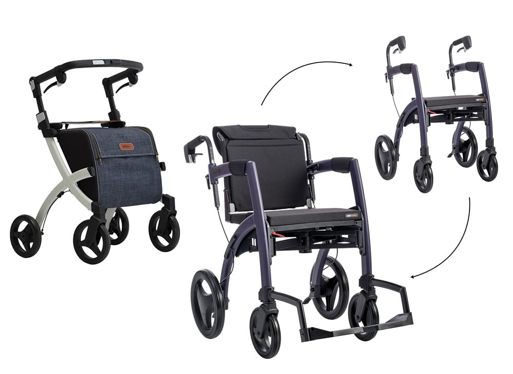 Use the store locator to find a shop that sells Rollz rollators