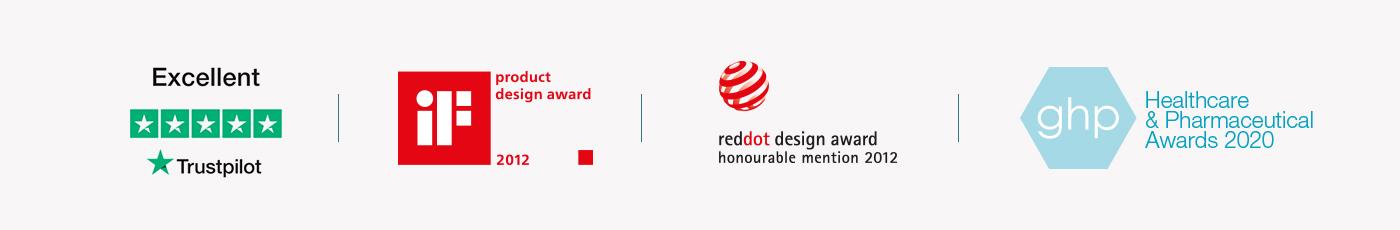 Design awards for Rollz International