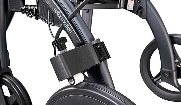 Drag brakes of the Rollz Motion Rhythm Parkinson rollator