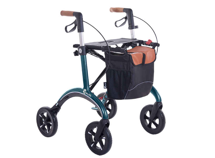Saljol carbon rollator with gears