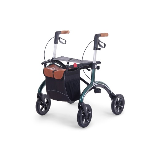 Saljol carbon rollator small size in green color