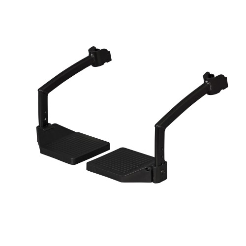 Adjustable footrests for the Rollz Motion rollator